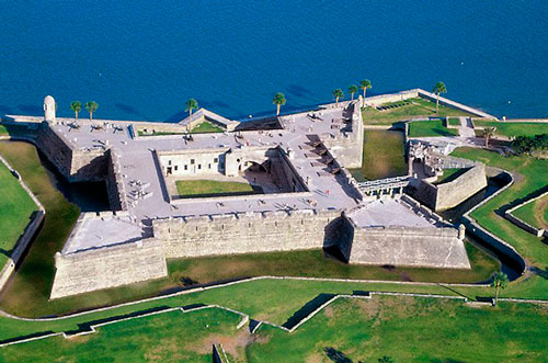 Fortaleza de San Agustín en la Florida
