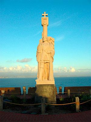 Monumento en San Diego a Rodríguez de Cabrillo