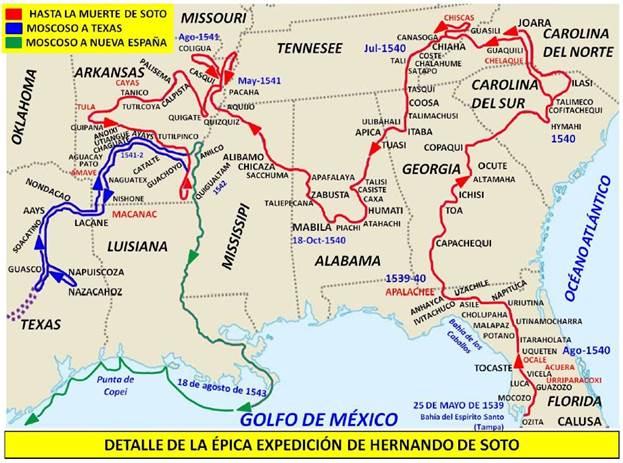 Ruta de Hernando de Soto