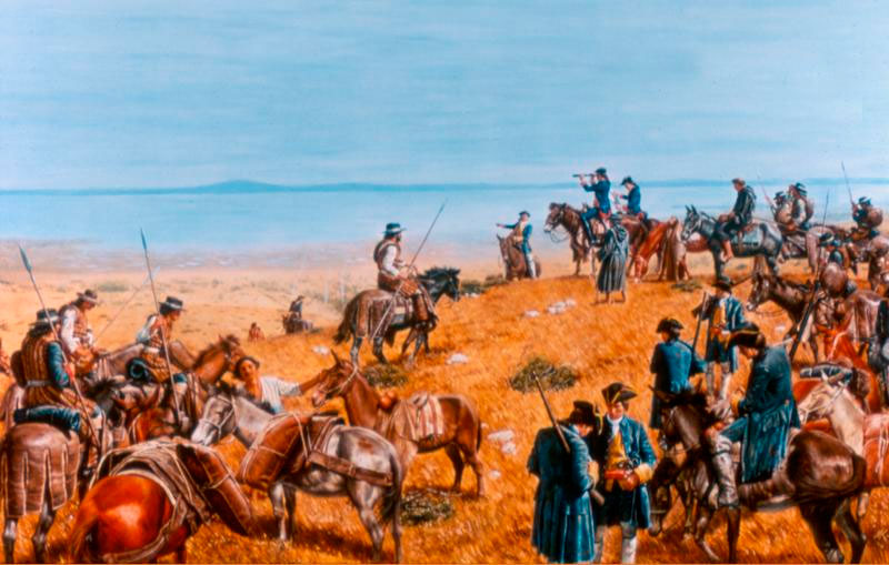 Expedition of Gaspar de Portolá in California