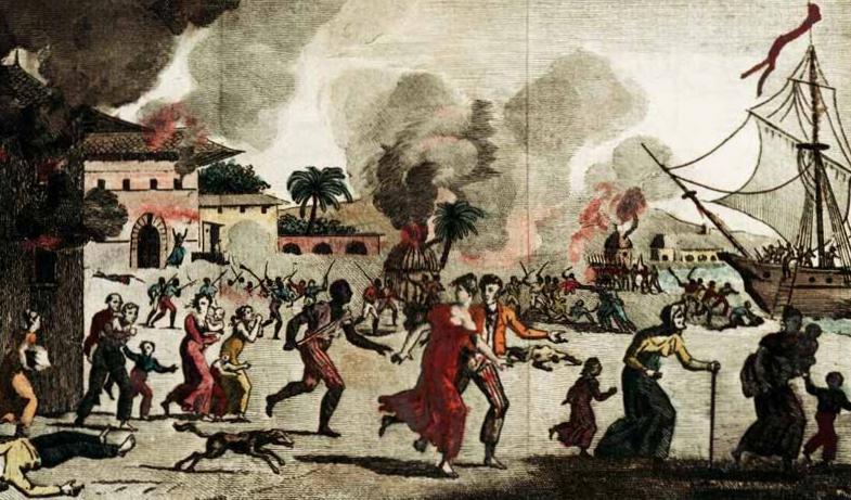 Rebelión esclavos en Santo Domingo
