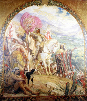 Llegada de Diego de Almagro al Valle de Aconcagua