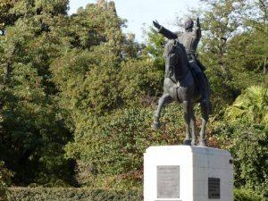Estatua de Simón Bolívar en Sevilla