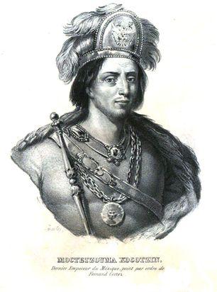 Biografía De Moctezuma Xocoyotzin Historia Del Nuevo Mundo