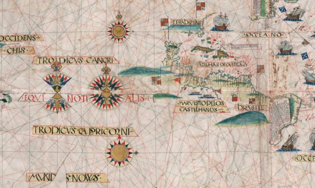 Mapa de Jorge Reinel de 1519