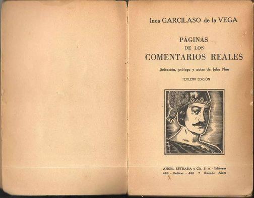 Comentarios Reales de los Incas, Inca Garcilaso de la Vega