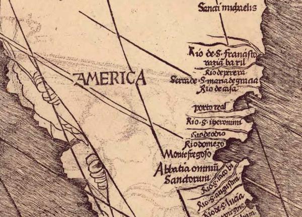 Mapa de Waldseemuller