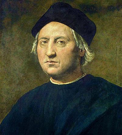 Retrato Cristóbal Colón