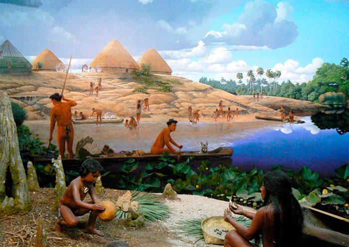 Indios propiedad de la tierra